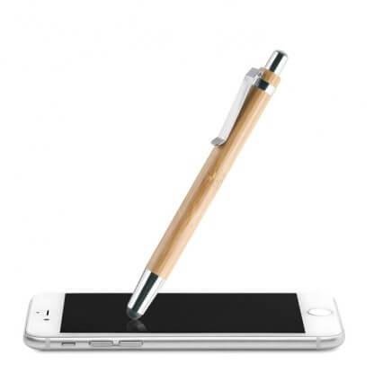 Stylet Stylo 2 En 1 En Bambou WONDER Tactile