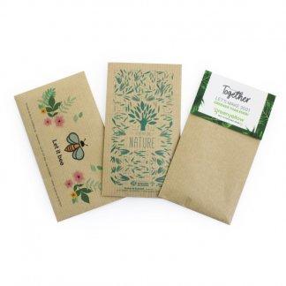 Sachet De Graines Personnalisable En Papier Kraft 7 X 12 Cm KRAFTGRAINES