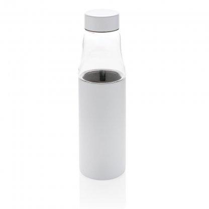 Bouteille En Acier Inoxydable Et En Verre 500ml VANAX Blanc