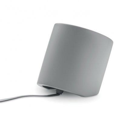 Enceinte Bluetooth En Ciment Calcaire Et Bambou VIANA SOUND Arrière
