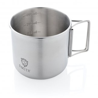 Mug promotionnel En Acier Inoxydable 450ml RANTA Logo