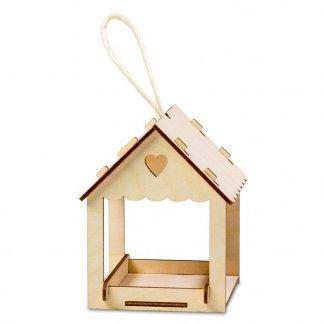 Abri pour oiseaux publicitaire en bois - SAFEBIRD