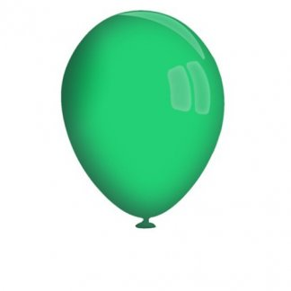 Ballon de baudruche publicitaire biodégradable en latex - vert - GLOBOS