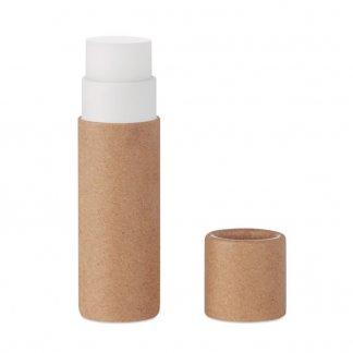 Baume à lèvres naturel dans tube en carton publicitaire - Naturel - PAPER GLOSS