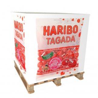 Bloc note cube palette personnalisé en papier recyclé ou certifié - Haribo