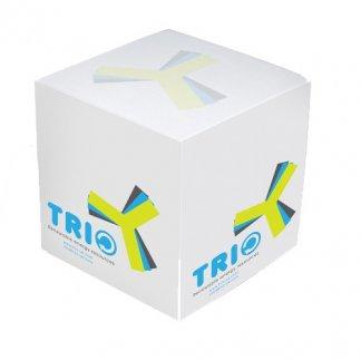 Bloc note cube promotionnel en papier recyclé ou certifié - cube