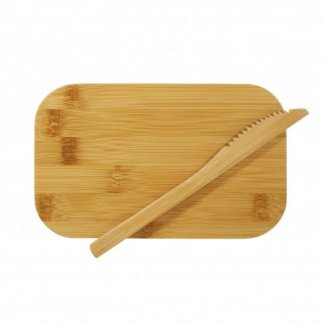 Boîte repas personnalisable en fibres de bambou et polypropylène - couvercle - BOXYBOO