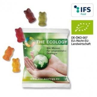 Bonbons oursons bio - sachet  publicitaire 10g - ecology - GABI