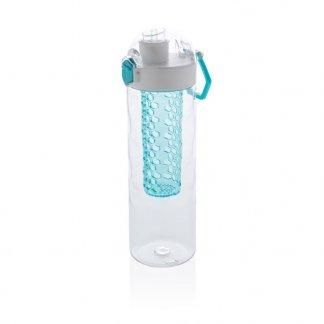 Bouteille d'eau à infusion en Tritan personnalisable - 700ml - bleu - HONEYCOMB