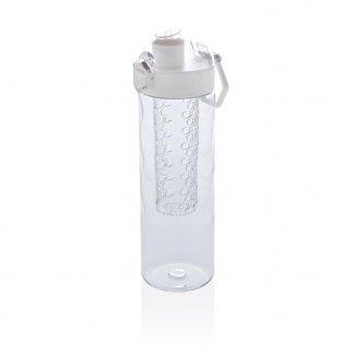 Bouteille d'eau à infusion en Tritan promotionnelle  - 700ml - blanc - HONEYCOMB