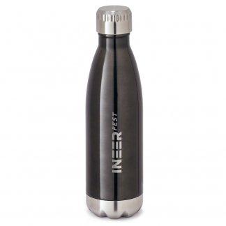 Bouteille isotherme personnalisée en acier inoxydable - 510ml - Avec logo - SHOW