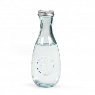 Bouteille personnalisble en verre recyclé - 600ml - transparent - MINIGLOU