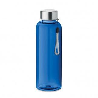 Bouteille promotionnelle en bouteilles plastiques recyclées - 500ml - Bleu marine -UTAH RPET