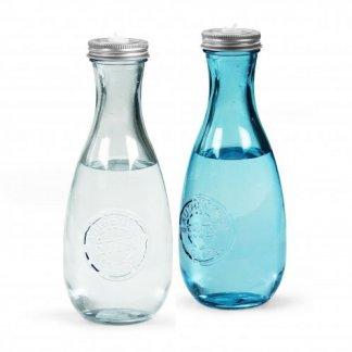 Bouteille promotionnelle en verre recyclé - 600ml - double - MINIGLOU