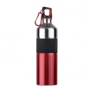 Bouteille sport promotionnelle en acier inoxydable - 750ml - rouge - TENERE