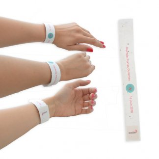 Bracelet biodégradable personnalisable avec graines - BIOBRACELET