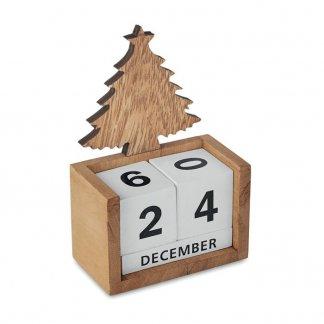 Calendrier promotionnel de bureau en bois - AVETO