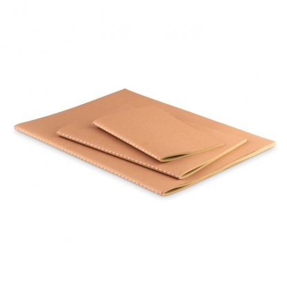 Carnet A4, A5, A6 Reliure Cousue Promotionnel En Carton Naturel PAPER BOOK