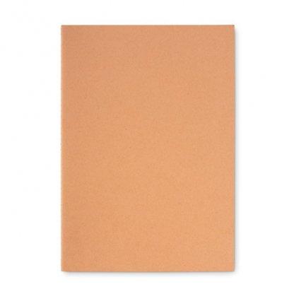 Carnet A4 Reliure Cousue Personnalisable En Carton Naturel Couverture PAPER BOOK