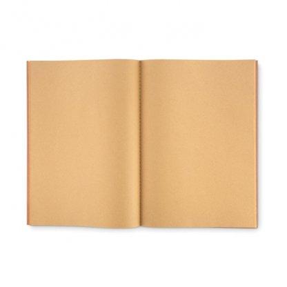 Carnet A4 Reliure Cousue Personnalisé En Carton Naturel Intérieur PAPER BOOK
