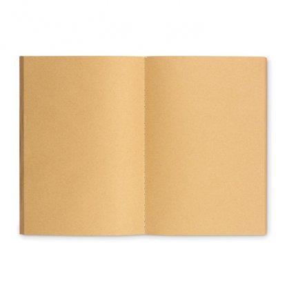 Carnet A5 Reliure Cousue Promotionnel En Carton Naturel Intérieur PAPER BOOK