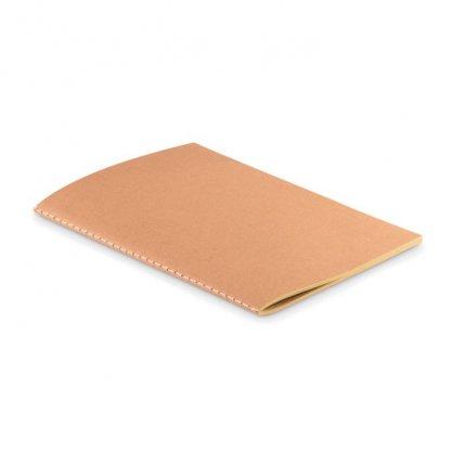 Carnet A5 Reliure Cousue Promotionnel En Carton Naturel PAPER BOOK