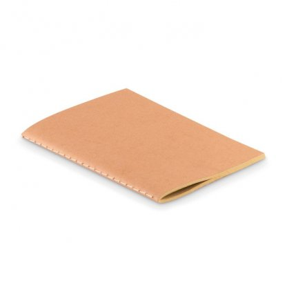 Carnet A6 Reliure Cousue Publicitaire En Carton Naturel PAPER BOOK