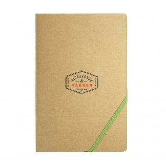 Carnet de  notes A5 personnalisé en carton recyclé et papier certifié - Avec marquage - ECONOTE