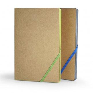 Carnet de  notes A5 publicitaire en carton recyclé et papier certifié - ECONOTE
