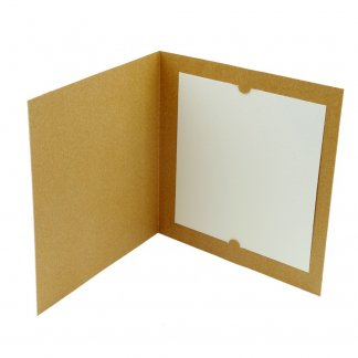 Carte de voeux en bois naturel certifié - Intérieur - VOEUX NATURE