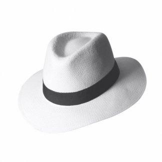 Chapeau publicitaire en paille de papier - BORSALINO