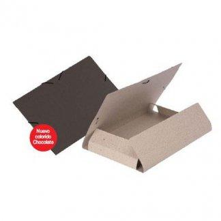 Chemise publicitaire en carton recyclé - 3 rabats - DONNA