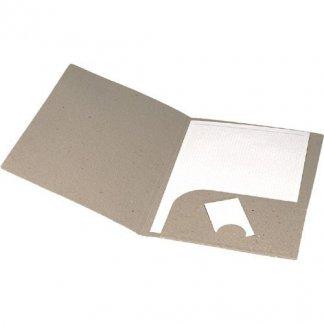 Chemise publicitaire en carton recyclé - ALEXA
