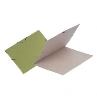 Chemise publicitaire en carton recyclé - fermeture élastique - CATALIA