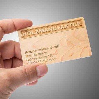 Clé USB format carte personnalisée en bois - Avec marquage par gravure - CARTE BOIS
