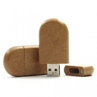 Clé USB promotionnelle en papier recyclé - PAPER RECY