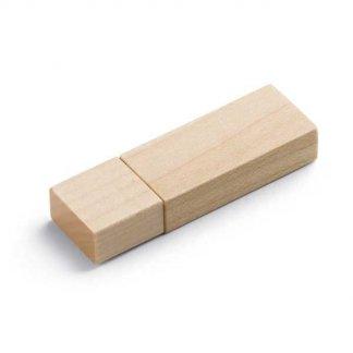 Clé USB publicitaire en bois - AMBIANTAL