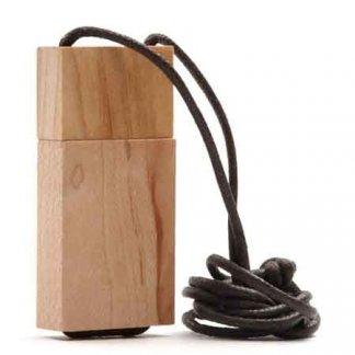 Clé USB publicitaire en bois - Bois clair - FREE NATUR