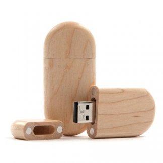 Clé USB publicitaire en bois - TRAILER