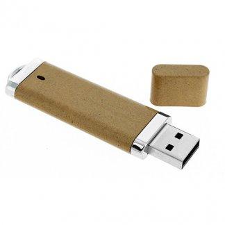 Clé USB publicitaire en fibres végétales + métal - VGGRAFT