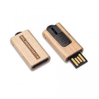 Clé USB slide personnalisée en bois - TREE