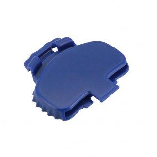 Clip pour canette métallique - bleu - DAMZY