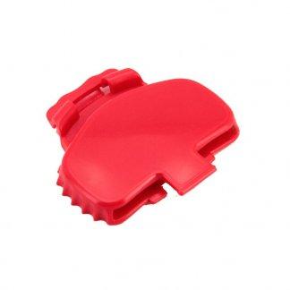 Clip pour canette métallique - rouge - DAMZY
