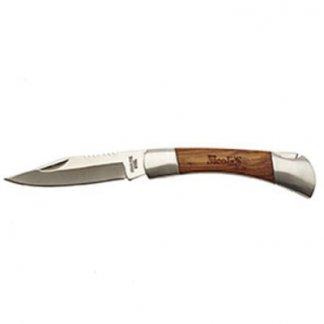 Couteau cran d'arrêt pliable publicitaire en bois - CHIZU