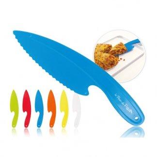 Couteau pelle à tarte promotionnel en polypropylène - Toutes couleurs