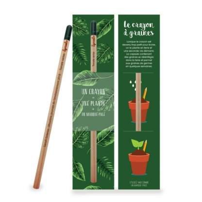 Crayon à Planter En Bois Certifié Pochette Standard SPROUT