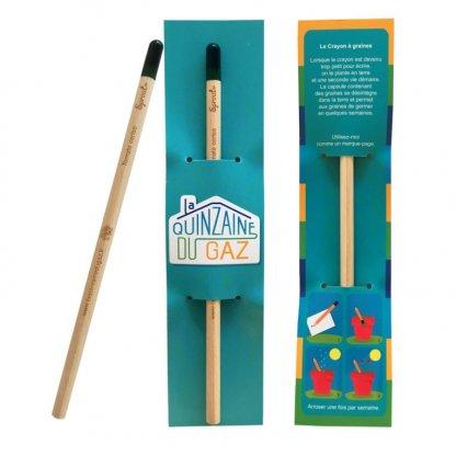 Crayon à Planter Personnalisable En Bois Certifié Gaz SPROUT