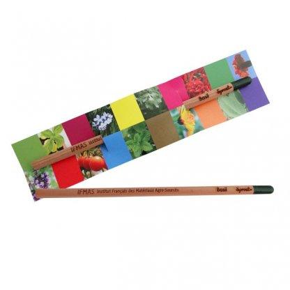 Crayon à Planter Personnalisable En Bois Certifié Ismas SPROUT