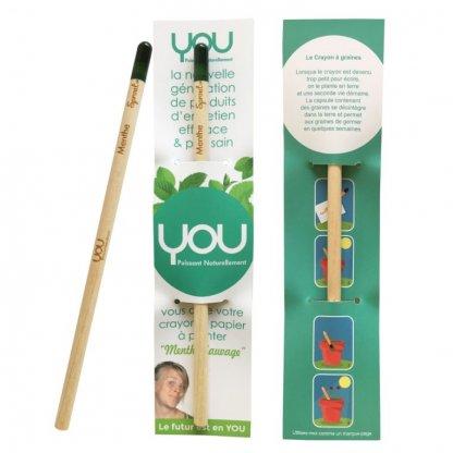 Crayon à Planter Promotionnel En Bois Certifié You SPROUT