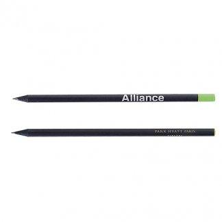 Crayon noir publicitaire en bois - PRESTIGE BLACK